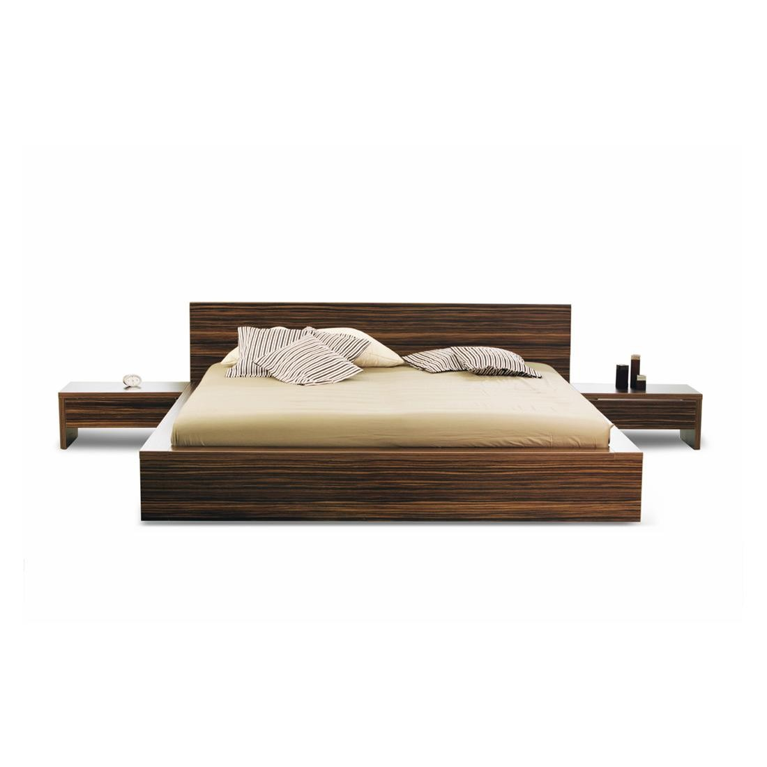 Picture of: Barcelona Bamboo Platform Bed