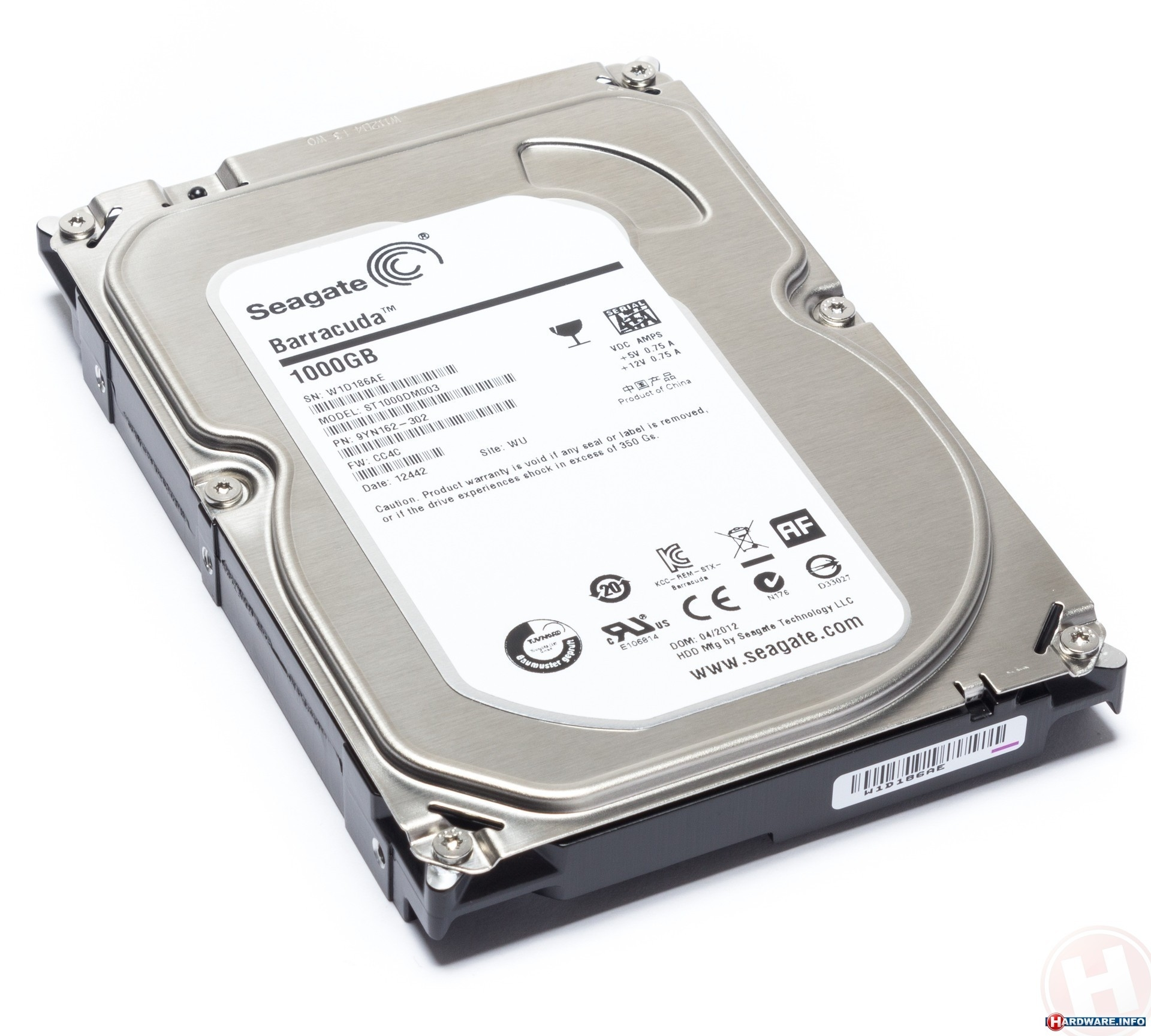 Seagate Barracuda 7200.14 1TB (ST1000DM003)