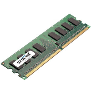 Crucial 512MB PC4200 DDR2 533MHz Memory